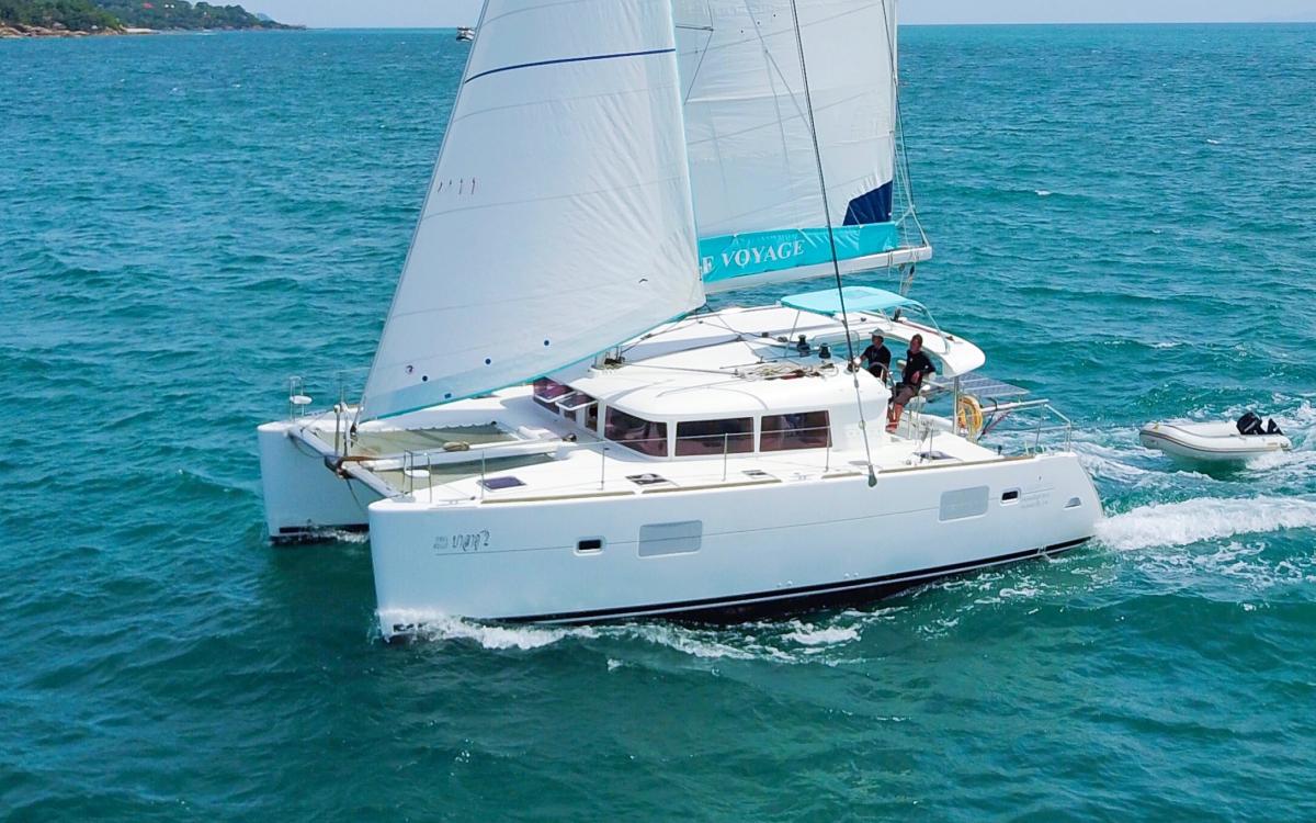 Samui Yacht charter - Blue coco - Lagoon 400