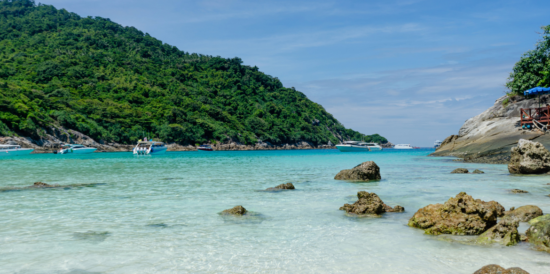 Option 3 Half Day : Koh He (Coral Island)